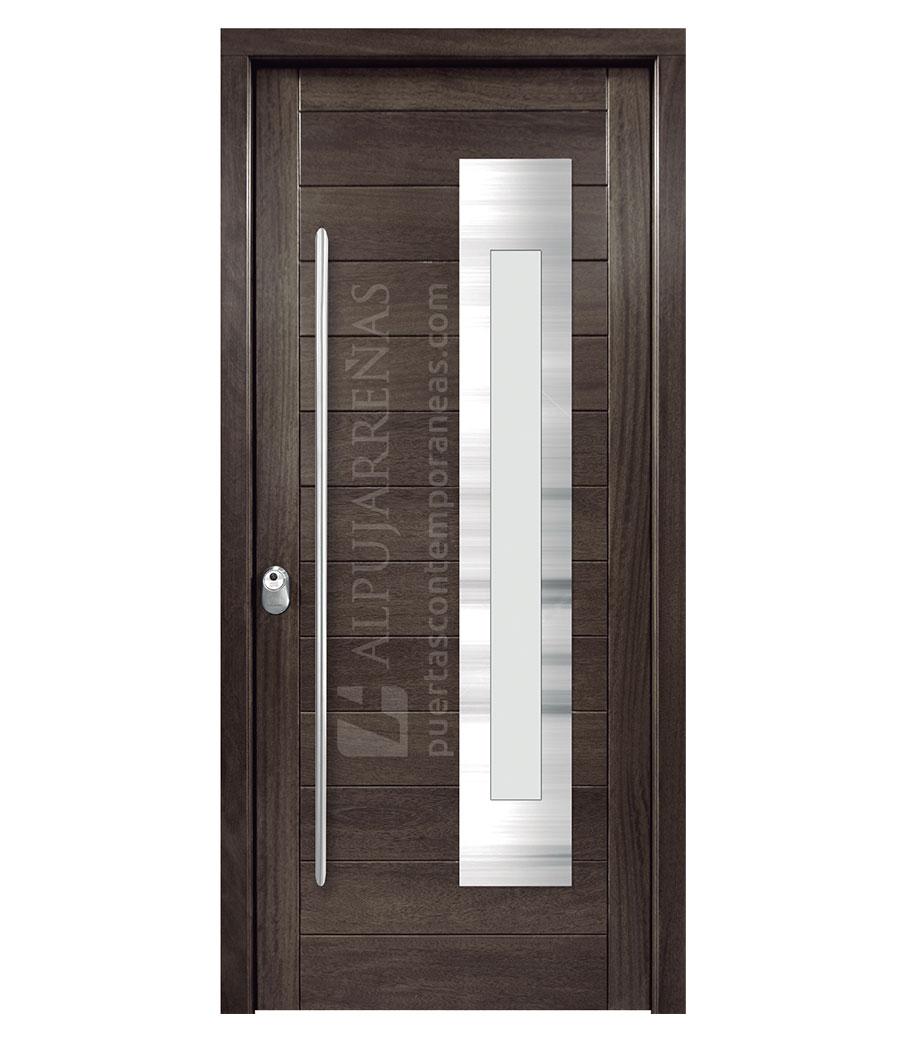 Puertas de exterior de pvc cheap puerta exterior rstica - Puerta exterior pvc ...
