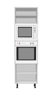 Columnas maderas ravira estepona armarios tableros a medida p rgolas cocinas bricolaje - Mueble para horno y microondas ...